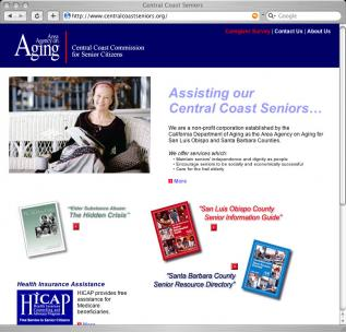 centralcoastseniors.org Homepage