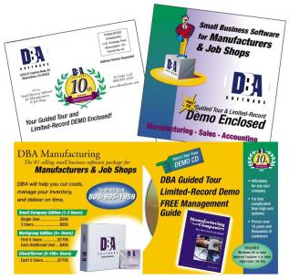 DBA Manufacturing Print Collateral Materials
