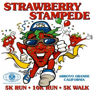 Strawberry Stampede Custom Illustration